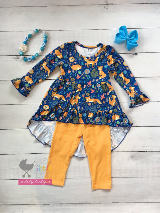 {OUTFIT} $19.99 - High Low Fox w/ Capri
