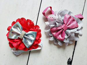 {HEADBAND} Valentine Blingy Bow
