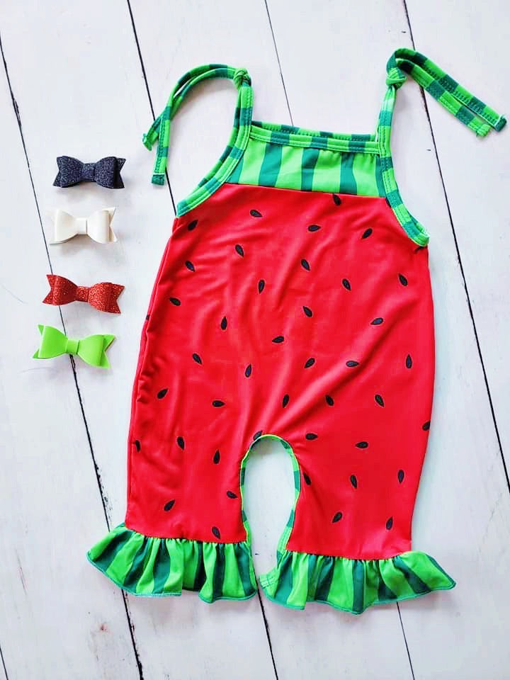{ROMPER} Watermelon