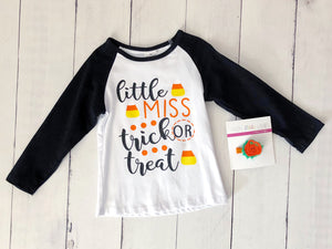 {SHIRT} Little Miss Trick or Treat