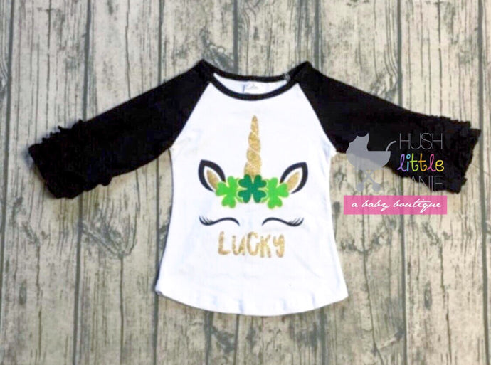 {SHIRT} St. Patrick's Unicorn