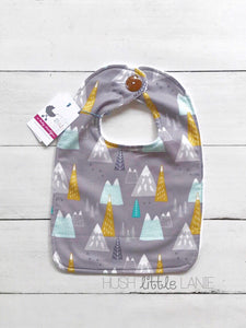 {BIB} Handmade Button Bibs - NEW