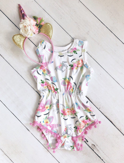 {ROMPER} Unicorn