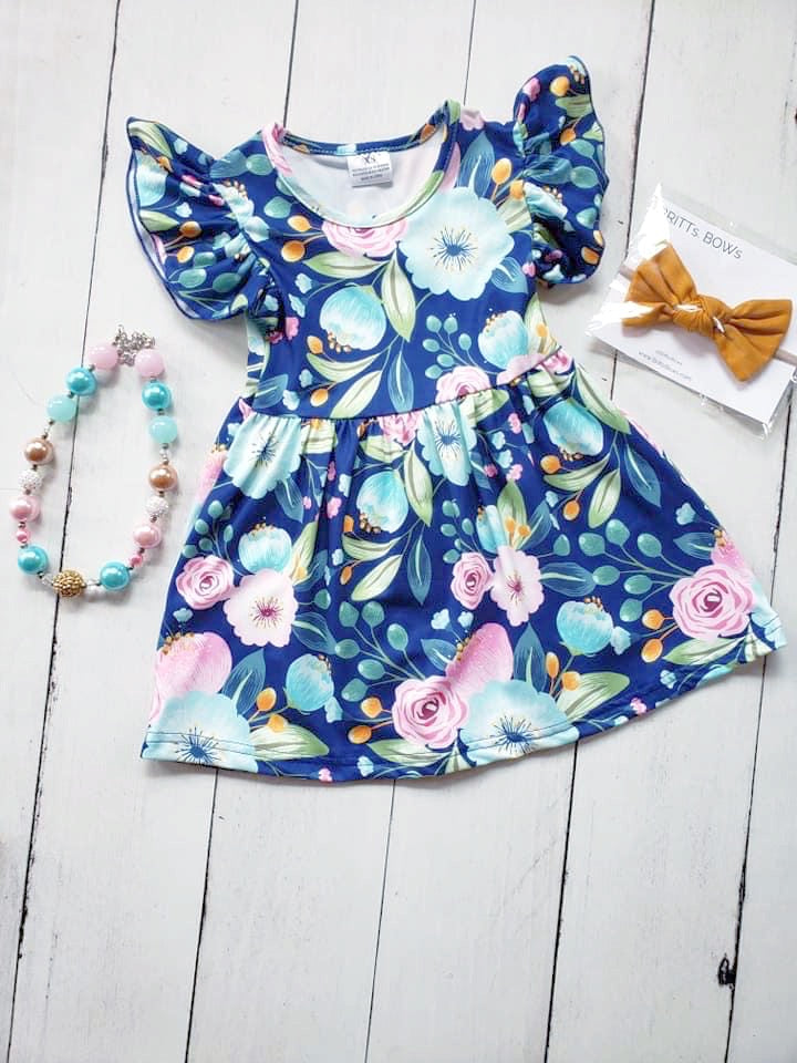 {DRESS} Blue Bouquet