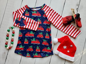 {SHIRT} Christmas Trucks & Friends