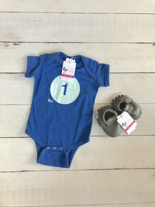 "{BODYSUIT} ""1"" First Birthday"
