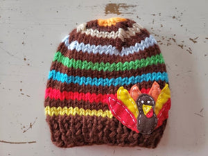 {HAT} Felt Patch Turkey Hat