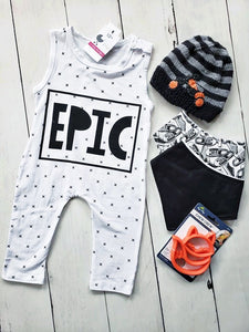 {ROMPER} Epic Black and White
