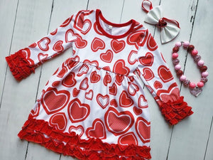 {DRESS} Hearts and Ruffles