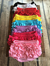 {RUFFLE DIAPER COVER} 18-24m