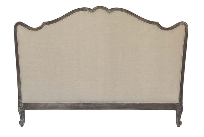 WOOD UPHOLSTERED BALTINE HEADBOARD NATURAL