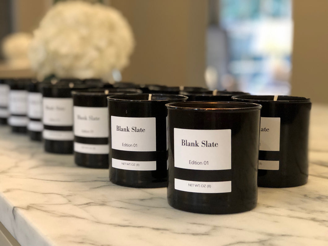 Blank Slate Candle -Edition 01