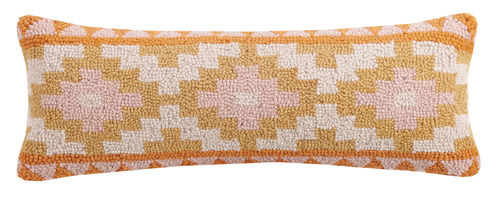 PASTEL KILIM ROW Hand hook Pillow