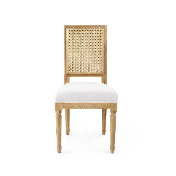 ANNETTE SIDE CHAIR, NATURAL - Blank Slate Designs