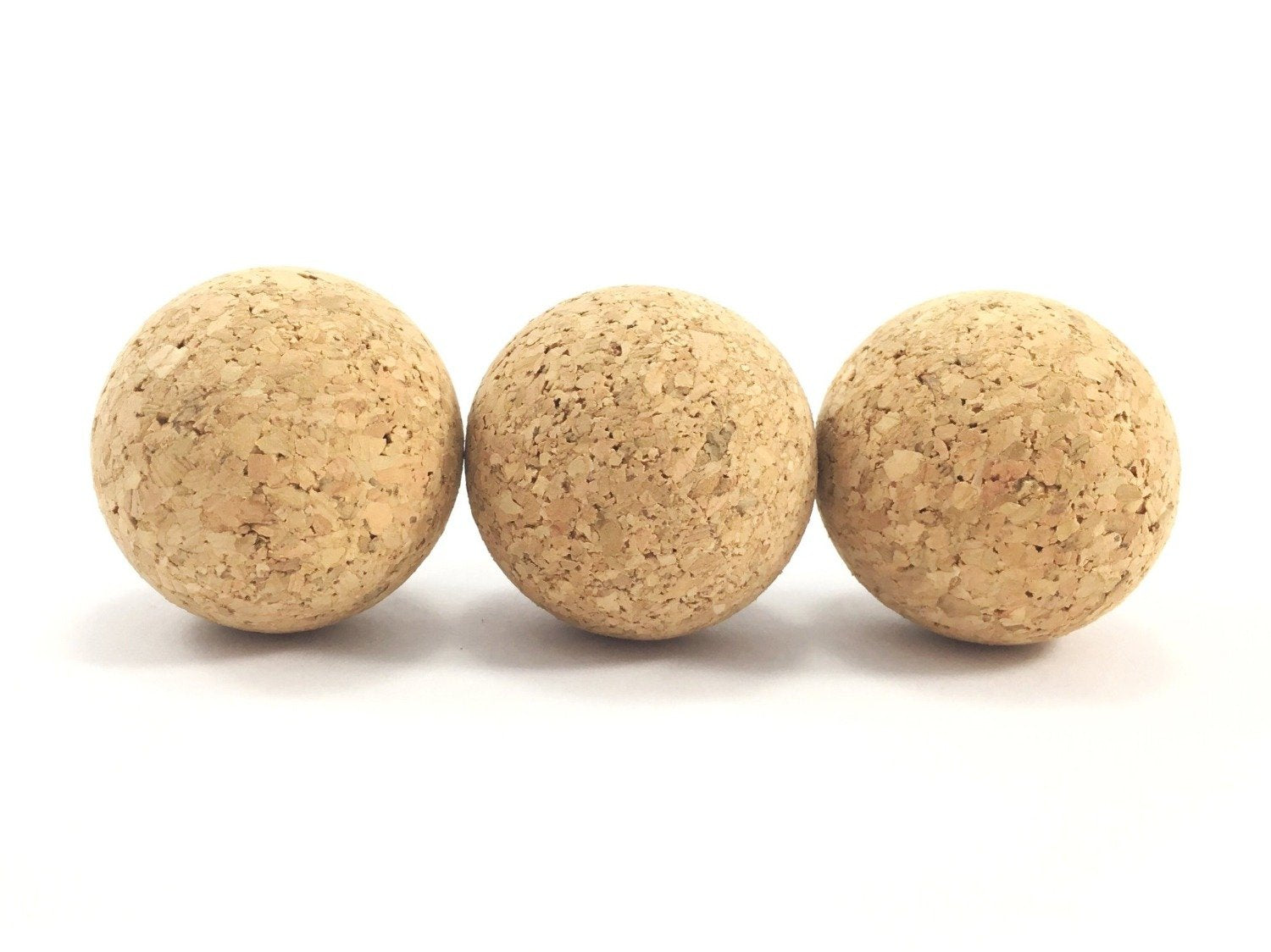 Cat balls toys made from natural, eco friendly and sustainable cork, which is also biodegradable