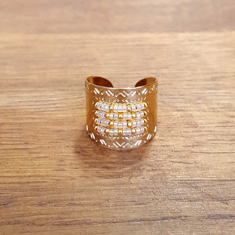 Bague Icate XL Gold light