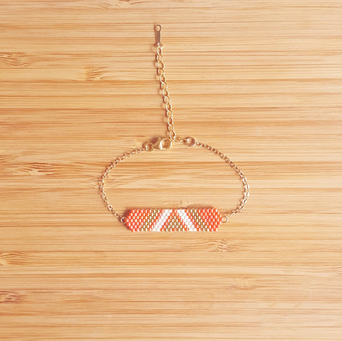 Bracelet Aztek Orange