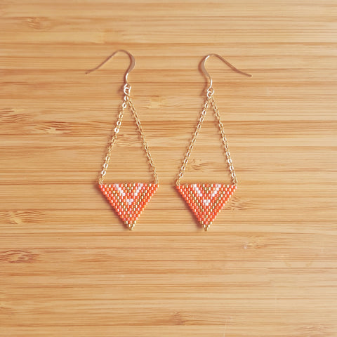 Boucles Apache Orange
