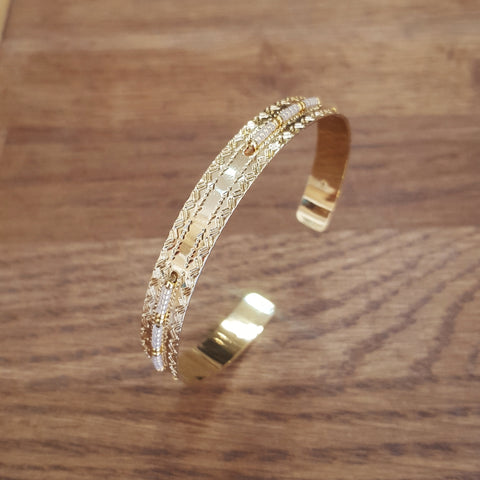 Bracelet Jonc Icate Gold light