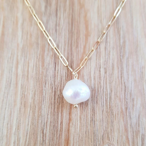 Collier Perle d'eau douce naturelle