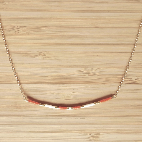 Collier Ola Orange