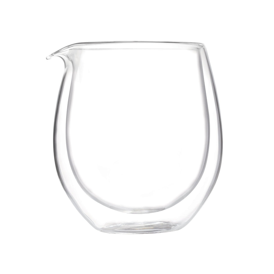 300ml Double Walled Glass Fairness Jug - Archiology