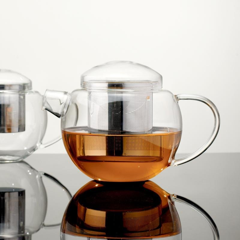 400ml Glass Teapot with Infuser - Archiology