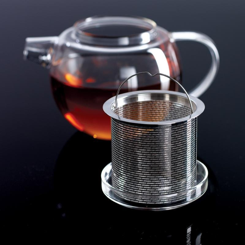 600ml Glass Teapot with Infuser - Archiology
