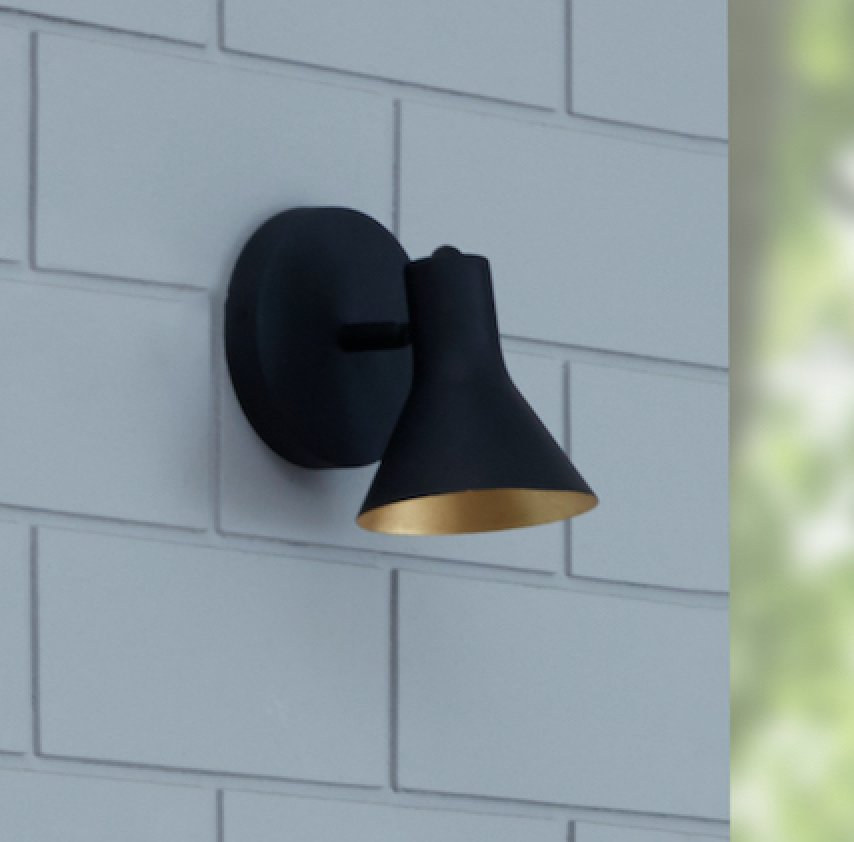 CONE 1-Light Wall Sconce - Archiology