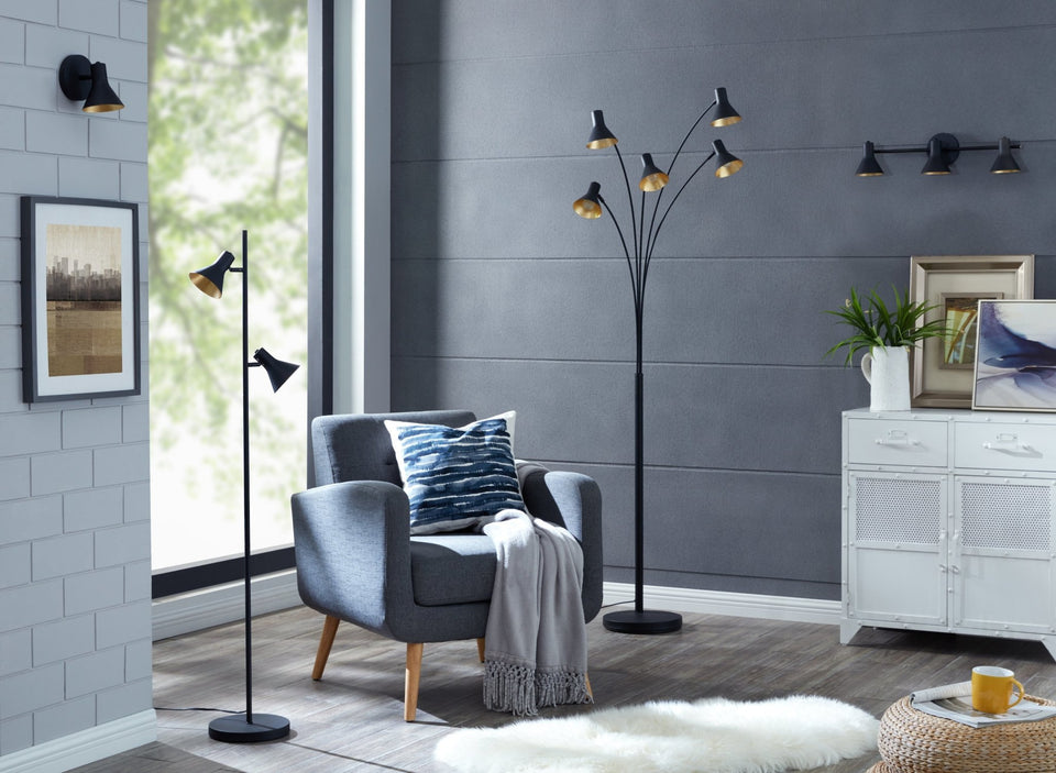 "Cone 5-Arm 81"" Tree Floor Lamp - Archiology"
