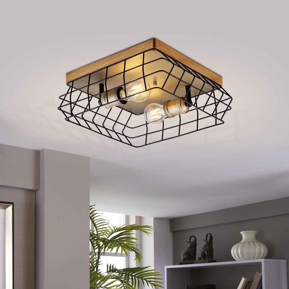 WALTON Flush mount lamp - Archiology