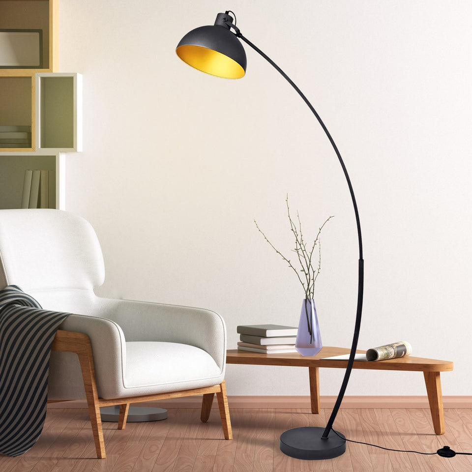WAVE Arc Metal Floor Lamp - Archiology