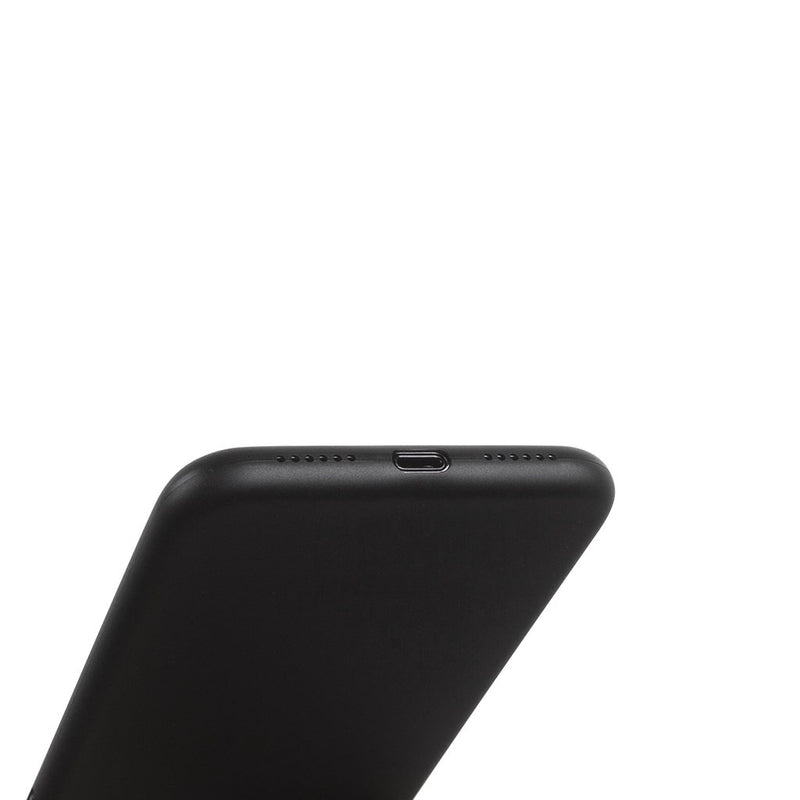 Super dunne iPhone XR hoesje 6,1  - Solid black