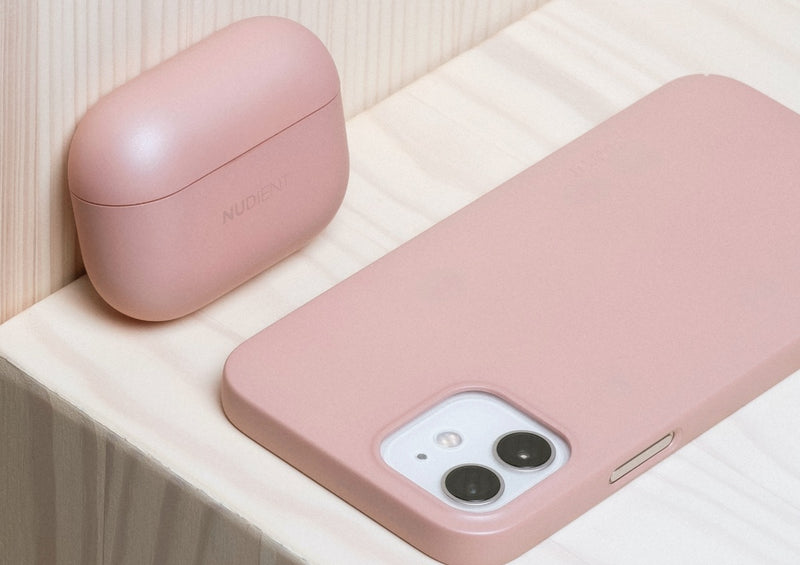 Nudient - AirPods Pro Hoesje - Dusty Pink