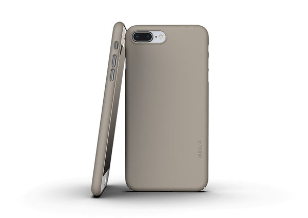 Nudient - Dun iPhone 7/8 Plus Hoesje V3 - Clay Beige