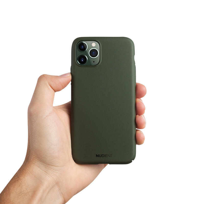 Dun iPhone 11 Pro 5,8 Hoesje V2 - Majestic Green