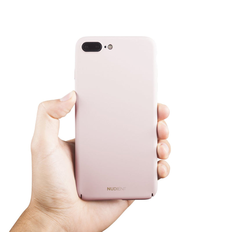 Dun iPhone 8 Plus Hoesje V2 - Candy Pink