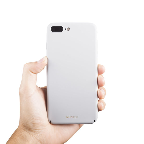 Dun iPhone 8 Plus Hoesje V2 - Pearl Grey