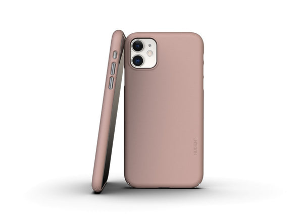 Nudient - Dun iPhone 11 Hoesje V3 - Dusty Pink