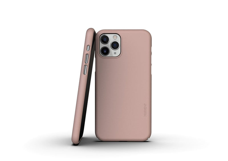 Nudient - Dun iPhone 11 Pro Hoesje V3 - Dusty Pink