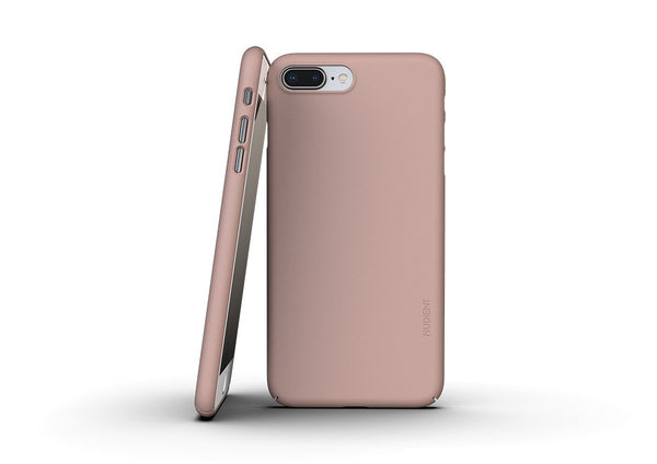 Nudient - Dun iPhone 7/8 Plus Hoesje V3 - Dusty Pink