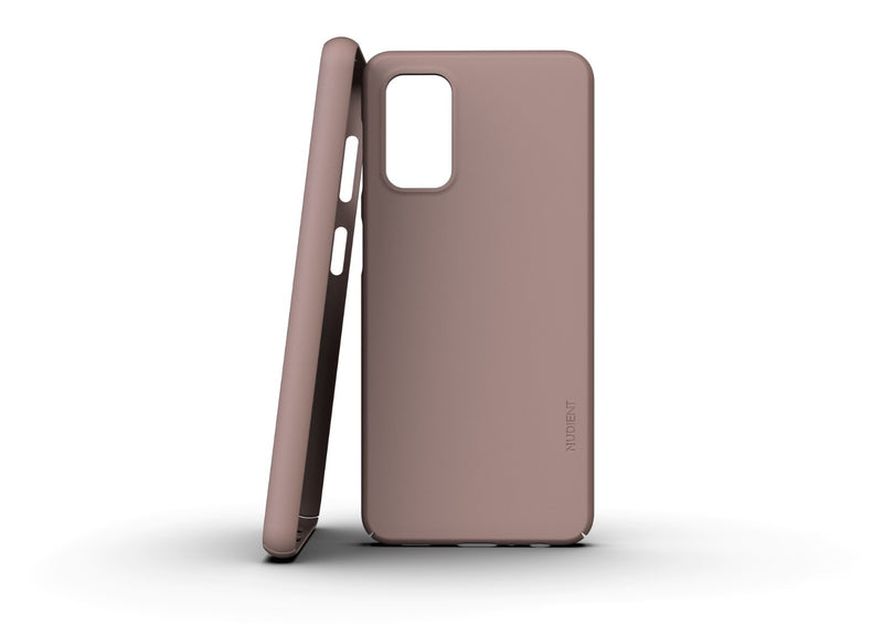 Nudient - Dun Samsung A32 Hoesje V3 - Dusty Pink