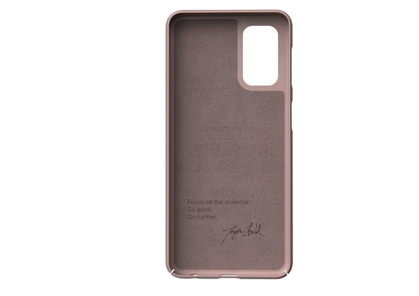 Nudient - Dun Samsung A52 Hoesje V3 - Dusty Pink
