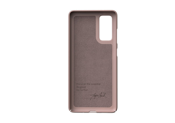 Nudient - Dun Samsung S20 FE Hoesje V3 - Dusty Pink