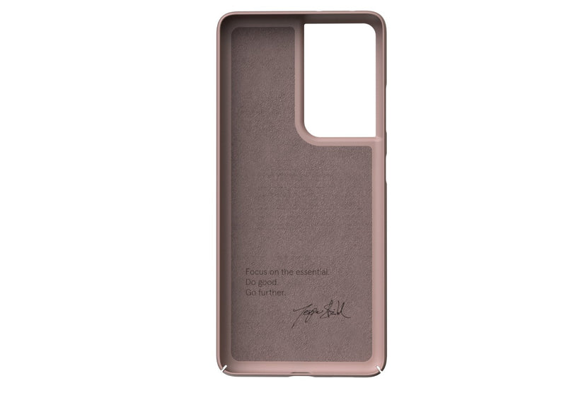 Nudient - Dun Samsung S21 Ultra Hoesje V3 - Dusty Pink