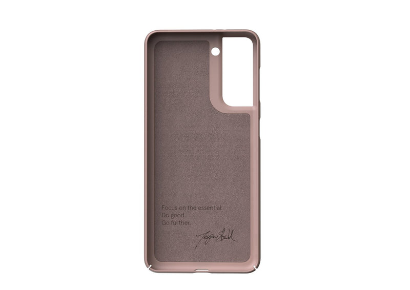 Nudient - Dun Samsung S21 Hoesje V3 - Dusty Pink