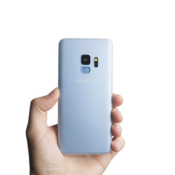 Super dun Samsung S9 hoesje - Frosted transparent