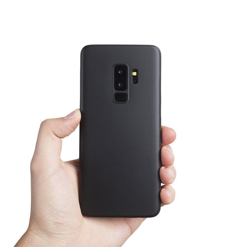 Super dun Samsung S9 Plus hoesje - Solid black