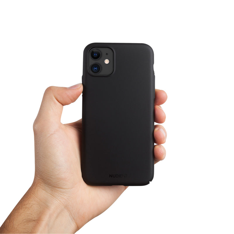 "Dun iPhone 11 6,1"" Hoesje V2 - Stealth Black"