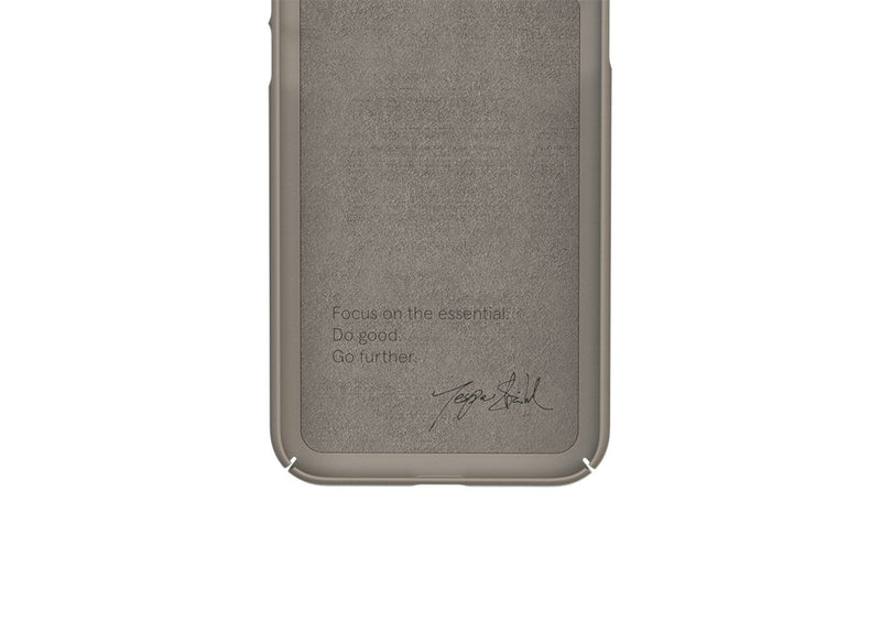 Nudient - Dun iPhone 7/8/SE Hoesje V3 - Clay Beige